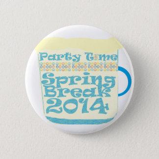 Spring Break 2014 6 Cm Round Badge