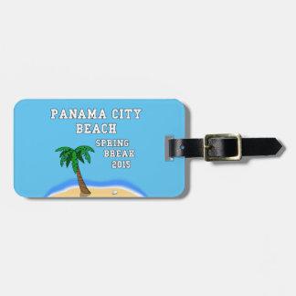 Spring Break 2015 Panama City Beach luggage tag