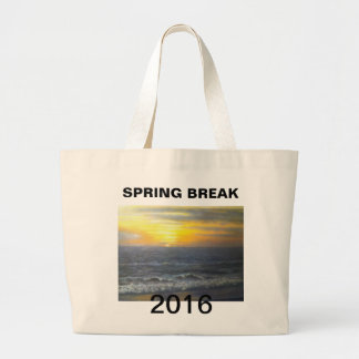 """SPRING BREAK 2016 JUMBO TOTE BAG"