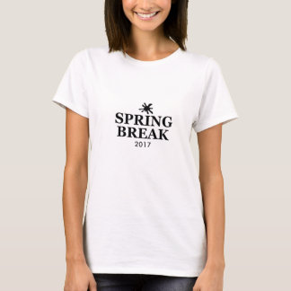 Spring Break 2017 Graphic T-Shirt (White) Adult M