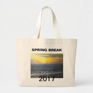 """SPRING BREAK 2017"" large tote Jumbo Tote Bag"