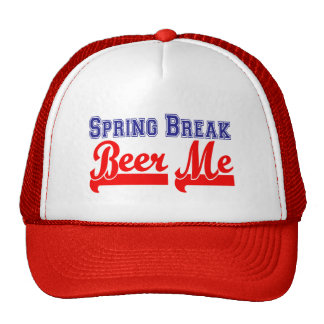 Spring Break Beer Me (Themed Party) Hats