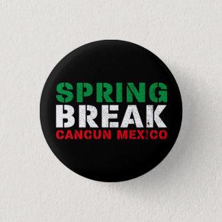 Spring Break Cancun Mexico 3 Cm Round Badge