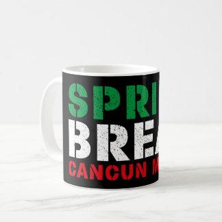 Spring Break Cancun Mexico Coffee Mug