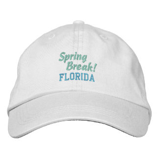 SPRING BREAK! cap Embroidered Baseball Cap