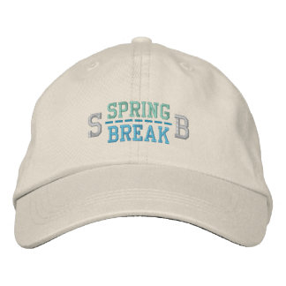 SPRING BREAK cap Embroidered Hats