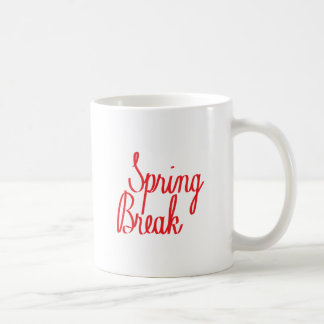 Spring Break Coffee Mug