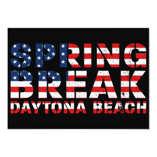 Spring Break Daytona Beach USA Card