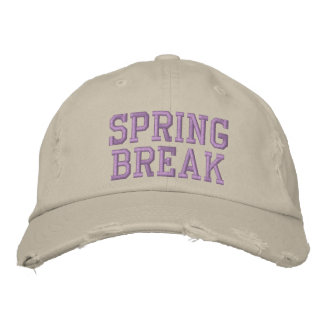 SPRING BREAK EMBROIDERED HATS
