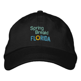 SPRING BREAK! - FLORIDA 1 cap Embroidered Cap
