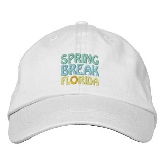 SPRING BREAK FLORIDA cap Embroidered Baseball Caps