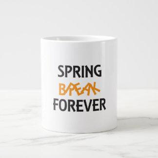 SPRING BREAK FOREVER GIANT COFFEE MUG