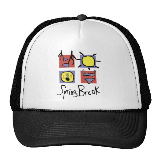 Spring Break Trucker Hats