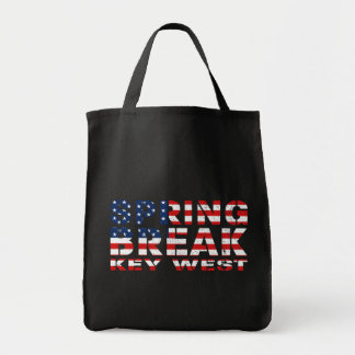 Spring Break Key West USA Tote Bag