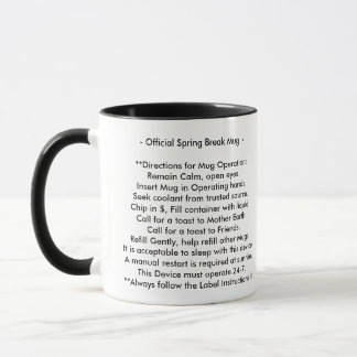 Spring Break Mug