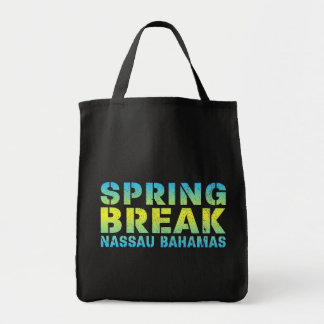 Spring Break Nassau Bahamas Tote Bag