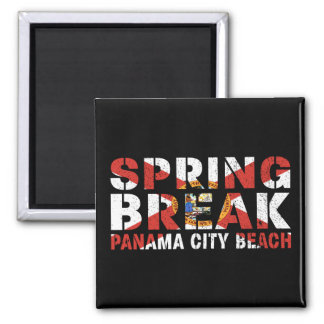 Spring Break Panama City Beach Magnet