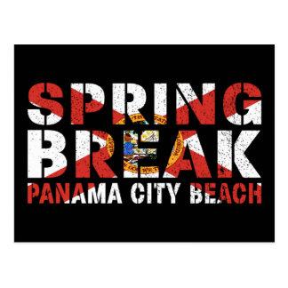 Spring Break Panama City Beach Postcard