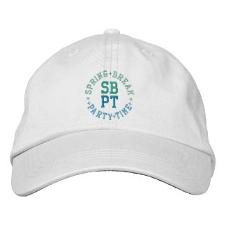 SPRING BREAK PARTY TIME cap Embroidered Hat