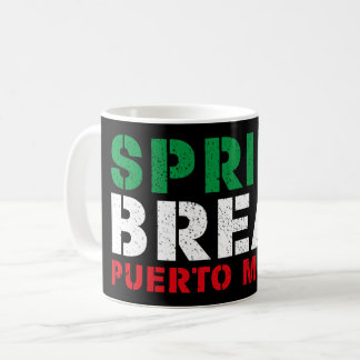 Spring Break Puerto Mexico Coffee Mug