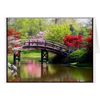 Spring Bridge Card