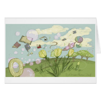 Spring Bubbles Card