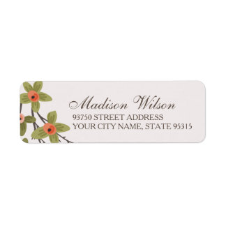 Spring Buds Address Labels