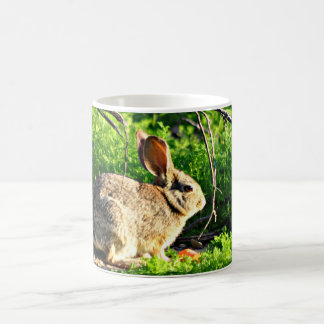 Spring Bunny Coffee Cup
