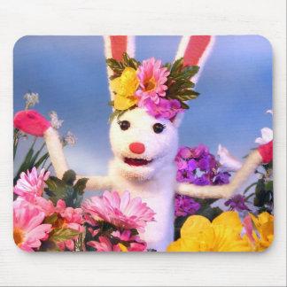 Spring Bunny Mousepad