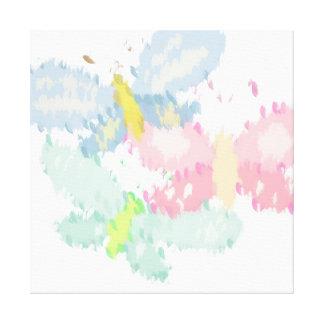Spring Butterflies Canvas Prints
