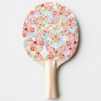 Spring Butterflies Ping Pong Paddle