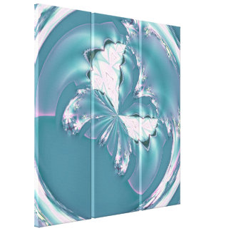Spring Butterfly Gallery Wrapped Canvas