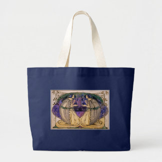 Spring by Frances Macdonald Large Tote Bag