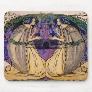 Spring by Frances Macdonald Mouse Pad