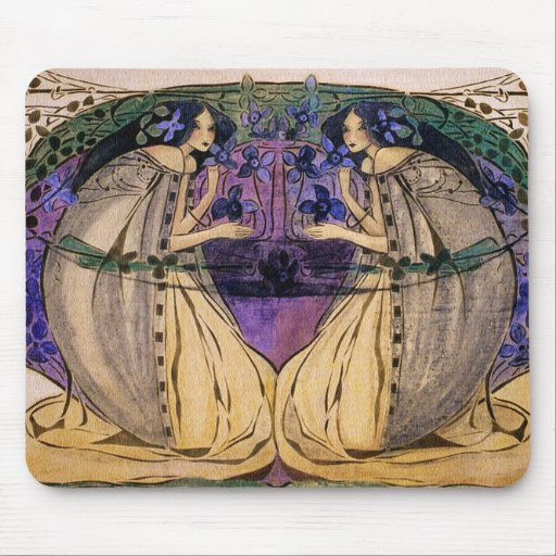 Spring by Frances Macdonald Mouse Pads