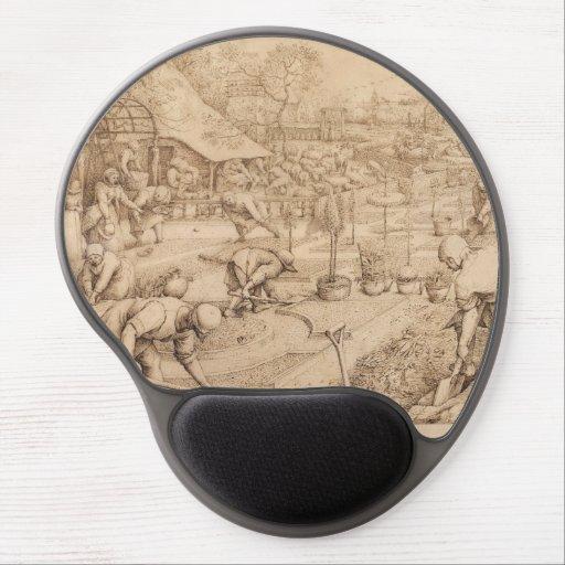Spring by Pieter Bruegel the Elder Gel Mousepad