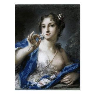 Spring by Rosalba Carriera Postcard