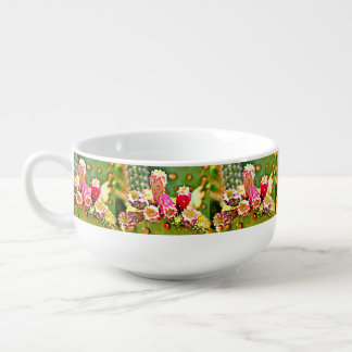 Spring Cactus Bulbs Soup Mug
