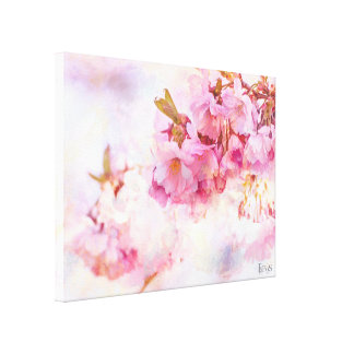 Spring Charm Stretched Canvas Print