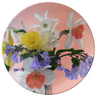 Spring Cheer Porcelain Plates