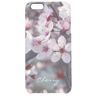 Spring Cherry Blossom Sakura Nature Floral Stylish Clear iPhone 6 Plus Case