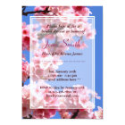 Spring Cherry Blossoms Bridal Shower Invitation