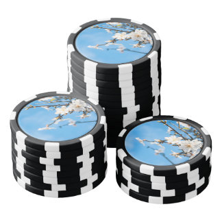 Spring Cherry trees Poker Chips