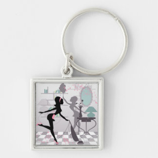 Spring Cleaning Key Chain