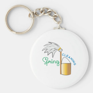 Spring Cleaning Key Chains