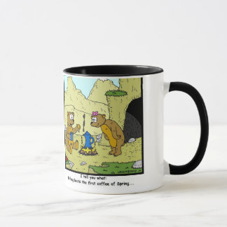 Spring Coffee: Bear Cartoon Mug