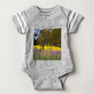 Spring Color Baby Bodysuit