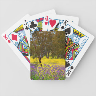 Spring Color Bicycle Playing Cards