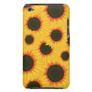 Spring colorful pattern sunflower barely there iPod cases