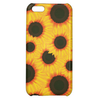 Spring colorful pattern sunflower case for iPhone 5C